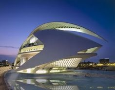 Palacio de las Artes – Palace of the Arts...Located in Valencia, Spain, the building is the opera house and is one of the buildings within the City of Arts and Sciences.