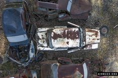 It was hard to fly between the trees not hitting branches. The height was often limited.  The remote Swedish scrapyard where old cars rust in peace! Photographed with a drone. https://airbuzz.one/drone-pictures-of-bastnas-car-cemetery/ #dronephoto #droneblogg #djiblogg #djimavicpro #dji #carcemetery #sweden #carwrecks #oldcars #rustycars #cars #sweden #bilskroten #båstnäs #dronephotography