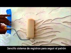 """Decoración de paredes con la Plantilla stencil """"Zebra"""""""