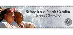 """Before it was North Carolina, it was Cherokee"" a outdoor ad that was part of the Cherokee North Carolina campaign designed to boost awareness of this cultural place and Native American tribe. #TheGossAgency #CulturalTourism"