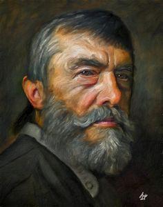 """""""Portrait"""" -- by Arjo62 (Swiss) on DeviantArt"""