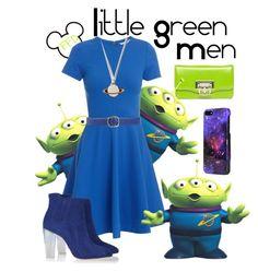Little Green Men by fashion-from-disney on Polyvore featuring polyvore, fashion, style, Diane Von Furstenberg, Liliyang, Sprayground, Giordano Frangipani, Disney and clothing