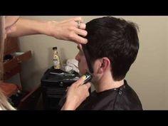 ▶ HOW TO CUT Mens Medium / Long Hair with Scissors // Hair Tutorial - YouTube