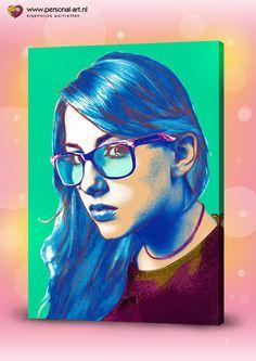Personal Art Originele Warhol Stijl door Personal Art