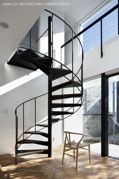 らせん階段/026高崎Mさんの家 HouseNote(ハウスノート)