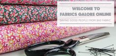 Fabrics Galore now have a pop up shop in Kingston. Hooray! Lots of lovely, mostly printed, fabrics to choose from! They are on the 1st floor of the Market House (large white building) in the middle of the market place.