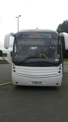 My coach for the day. Scania Levante. Burtonwood Services. M62.