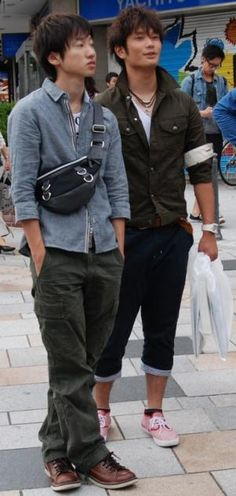japanese street fashion - young men's clothing trends - fashion in japan