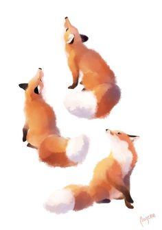 """Résultat de recherche d'images pour """"tatoo renard et loup"""""""
