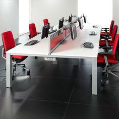Steel Underframe Bench Desk