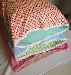 Crochet Edge Pillowcase Tutorial