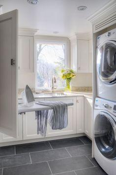 Laundry Room Cabinets, Laundry Room Organization, Laundry Room Design, Storage Organization, Laundry Shelves, Basement Laundry, Laundry Decor, Laundry Closet, Small Shelves