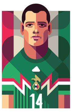 chicharito artwork - Buscar con Google