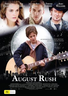 August Rush tells the story of an orphan who uses his remarkable musical talent to find the parents from whom he was separated at birth. The soundtrack features contributions by John Legend, Paula Cole, Chris Botti, and film co-star Jonathan Rhys Meyers