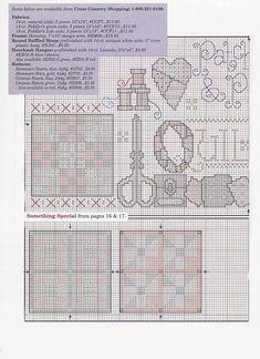 Patrones punto de cruz (solo country) (pág. 32) | Aprender manualidades es facilisimo.com