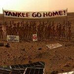 Curiosity znalazł życie na Marsie!