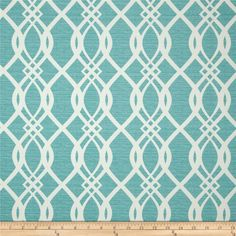 Swavelle/Mill Creek Indoor/Outdoor Hedda Bermuda from @fabricdotcom  From Swavelle/Mill Creek, this great outdoor fabric is stain and water resistant, perfect for outdoor settings and indoors in sunny rooms. It is fade resistant up to 500 hours of direct sun exposure. Create decorative toss pillows, chair pads, tabletop and tote bags. To maintain the life of the fabric bring indoors when not in use. This fabric can easily be cleaned by wiping down or hand washing with warm water and a mild…
