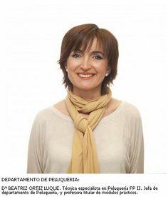 Beatriz Ortiz. Departamento de Peluquería
