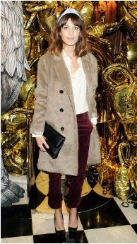 Alexa Chung in Mulberry