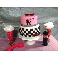 50s cake #cake