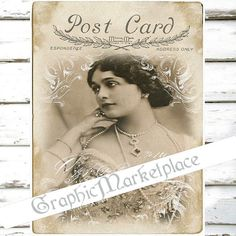 Beautiful Lady Woman Instant Download Large by GraphicMarketplace, $2.00