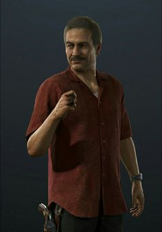 Uncharted A Thief's End - Victor Sullivan Uncharted A Thief's End, Uncharted Series, V Games, Best Games, Video Games, Ps4, Playstation Games, Victor Sullivan, Just Dance 2017