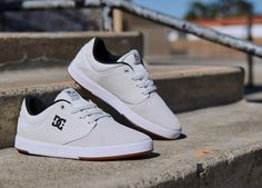 Cop a pair of the Plaza TC s in cream now. DC Shoes 45962a98c3417