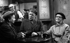 Minnie Caldwell, Ena Sharples and Martha Longhurst, Jack Warner (landlord) Coronation Street was fabulous :)