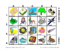 S Vocabulary  Picture & Quick Speech Worksheets  - pinned by @PediaStaff – Please Visit ht.ly/63sNtfor all our pediatric therapy pins