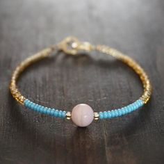 Boho Chic bracelets with authentic & ethical gemstones by GenerosityDesigns Opal Gemstone, Gemstone Bracelets, Boho Jewelry, Handmade Jewelry, Etsy Handmade, Valentines Gifts For Her, Chakra Bracelet, Pink Opal, Minimalist Jewelry