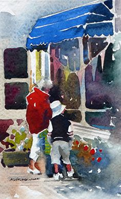 Kristi Grussendorf - Window Shopping with Grandma