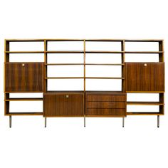 Saturday Shopping with Roman & Williams: Alfred Hendrickx for Belform Mid Century Rosewood Wall Unit