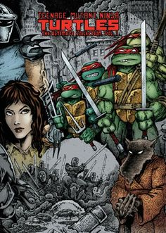 Teenage Mutant Ninja Turtles: The Ultimate Collection Volume 1 by Kevin B. Eastman http://www.amazon.ca/dp/1613770073/ref=cm_sw_r_pi_dp_7SZJwb0BWWYJX