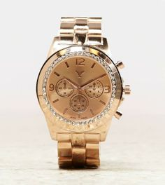 American Eagle Outfitters  AEO Rose Gold Watch