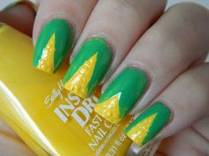 Muffin Nails: Very Corn-y Nails (Has my corn allergy screaming NOOOO!!!)