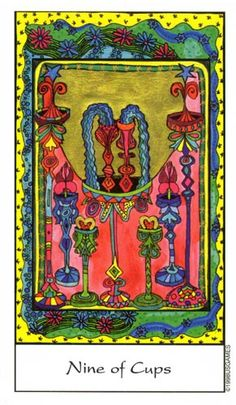 Tarot of the Trance ► Nine of Cups