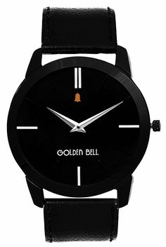a550c6cf05a Buy Golden Bell Analogue black Dial men Watch GB-753BlkD Online at Low  Prices in