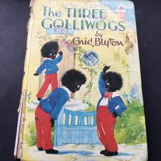 Enid Blyton The Three Golliwogs Rare Vintage Book 1969 H& Dean And Son in Books, Magazines, Antiquarian & Collectable 1970s Childhood, My Childhood Memories, Enid Blyton Books, Children's Comics, Kids Book Series, Literature Books, Vintage Children's Books, Childrens Books, Nostalgia