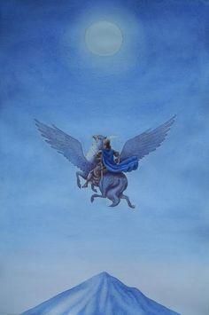 Giovanni Manna, Astolfo e la luna
