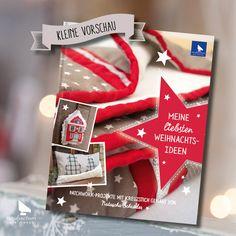 acufactum Meine liebsten Weihnachtsideen Buch #acufactum #meineliebstenweihnachtsideen #handarbeit #buch #winter #weihnachten #christmas #sticken #crossstich #naehen #sew #projects #DIY #vorschau