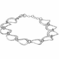 """925 Sterling Silver Link Bracelet W\1"""" Extender GoldenMine. $107.00. Completely redesigned and revamped for the year 2012. This item features a high polish finish for Excellent sparkle and pop. This jewelry is symbolic in nature and can be the perfect gift for any and all occasions. Promptly Packaged with Free Shipping and Free Gift Box... Perfect for Gift Giving. Manufactured using up-to-date manufacturing techniques ensuring the highest quality and value. Save 71%!"""