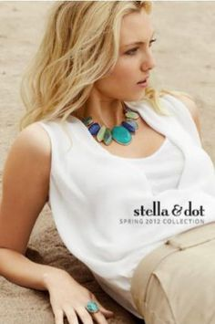 www.stelladot.com/lululauren  Serenity Necklace.... LOVE!   Stella & Dot Spring Collection 2012