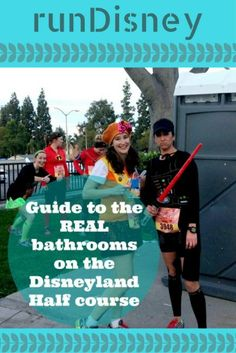 If you are running the Disneyland half, this is information you need! Guide to the real bathrooms on the Disneyland Half Course. Disney Races, Run Disney, Disney Tips, Disney Cruise Line, Disney Family, Disney Magic, Disneyland Half Marathon, Disneyland Tips, Tokyo Disneyland