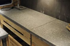 Making a polished concrete worktop (How to)