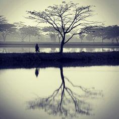 Drought in the abundance of water #cikoneng #bandung #indonesia #AKart