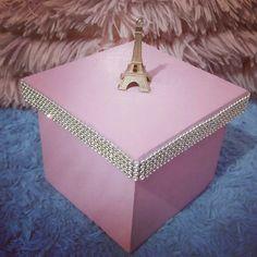 Porta joias caixa decorativa Paris França diy