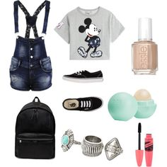 must have ?! by titsouillelafripouille on Polyvore featuring polyvore, mode, style, Paul & Joe Sister, Vans, Yves Saint Laurent, MANGO, Eos and Essie
