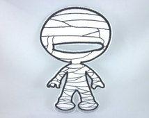 Costume de momie, poupée de papier en tissu, costume d'Halloween, poupée de tissu, feutre vêtements de poupée, vêtements de poupée, jouet calme, jouets d'imagination