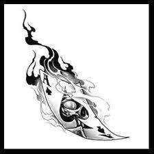 43 tattoo templates: tattoo ideas, patterns, motifs and their meaning - tattoo-design-playing-card-ace-burning Informationen zu 43 Tattoo Vorlagen: Tattoo Ideen, Muster, Mo - Demon Tattoo, Tattoo Art, Osiris Tattoo, Tatoo Manga, 3d Foto, Car Tattoos, Tattoo Templates, Ace Of Hearts, Poker Tattoo