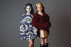 Nicole: shirt by ZARA, skirt by Pola & Frank, mask by Funky Legs. Marianna: sweater by H&M,  golden skirt by Hebe, mask by Funky Legs, wellingtons by Hunter. RAWR Magazine.